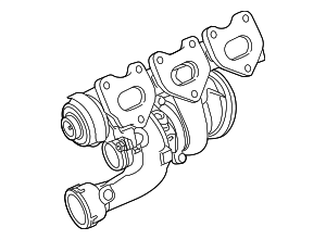 Turbocharger - Porsche (946-123-025-62)