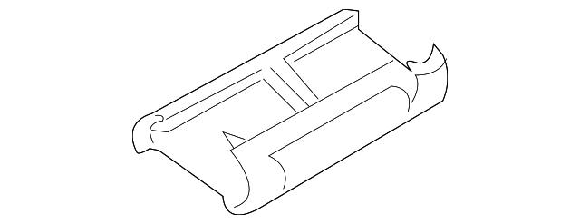 Genuine GM Rocker Molding Clip 11601845