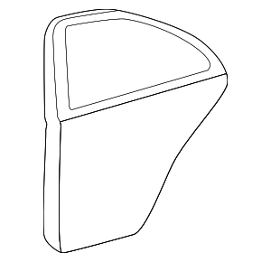Door Shell - Mercedes-Benz (203-730-11-05-67)