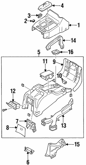 Cover, Seat Heater (Passenger)