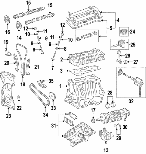 Engine For 2010 Ford Fusion Haagfordparts. Engine For 2010 Ford Fusion 0. Wiring. 2010 Fusion 2 5l Engine Diagram At Scoala.co