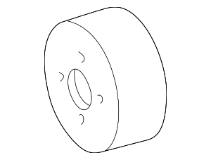 Pulley - Mercedes-Benz (112-202-01-10)