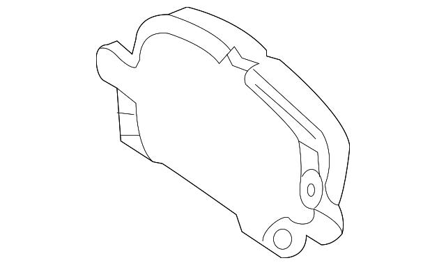 Pad Kit Frt Disc Brk Gm 23316342 Gm Parts Center