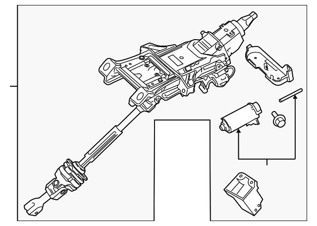 column assembly - steering