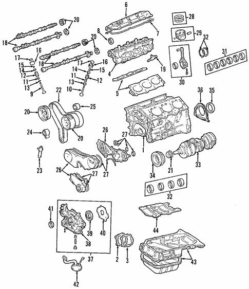 1999 lexus es300 engine diagram engine for 1999 lexus rx300 genuine lexus parts  engine for 1999 lexus rx300 genuine