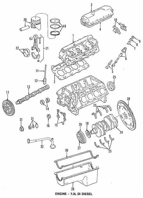 Engine For 1994 Ford F 250