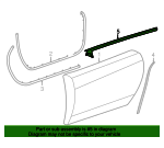 Belt Weather-Strip - GM (20791102)