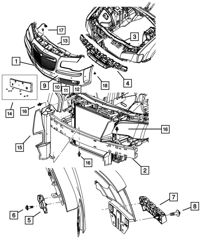 2013 Dodge Charger Front End Parts