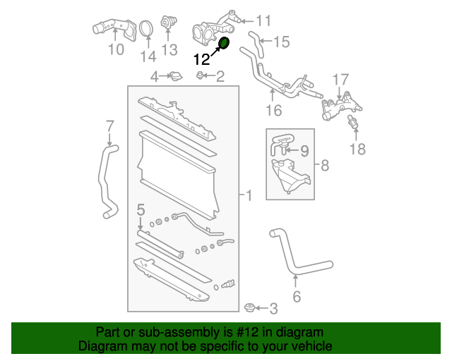 Thermostat Housing Seal