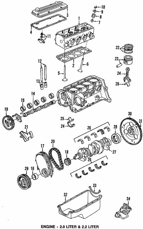 1992 Chevy Corsica Engine Diagram