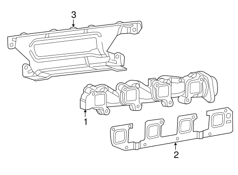 Exhaust Manifold For 2011 Ram 2500