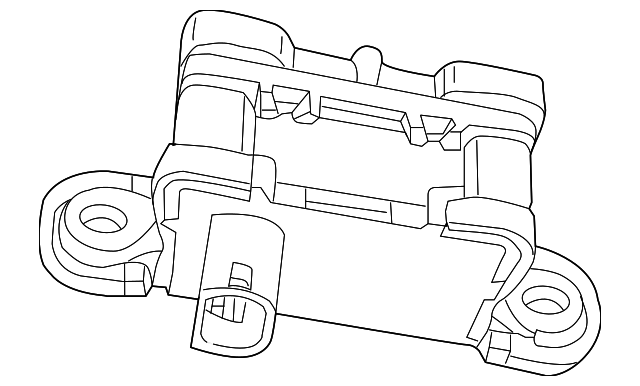 lateral accelerometer sensor
