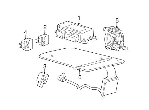 Air Bag Components For 2015 Chevrolet Trax Gmpartsdirect Com