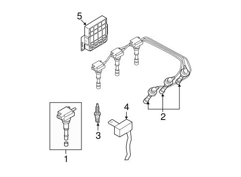 Ignition System for 2005 Hyundai Santa Fe   Parts Hyundai