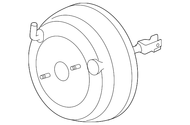 2012 2015 Subaru Brake Booster 26402fj010