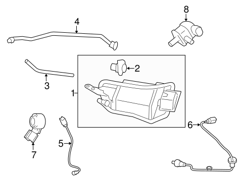 EMISSION SYSTEM/EMISSION COMPONENTS for 2014 Toyota Corolla #1