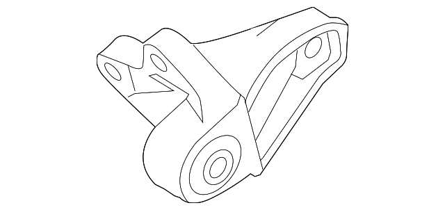 2012 2018 Ford Focus Bracket Cv6z 6e042 A