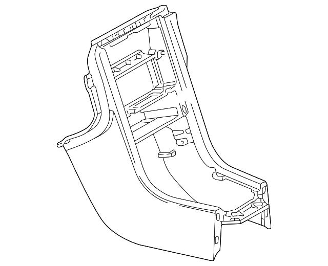 1998 2000 Mercedes Benz Slk 230 Front Console 170 680 08 52 3475