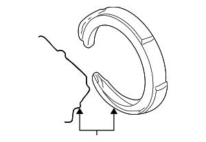 Saab 2002 9 3 Engine Diagram Get Free Image likewise T3251846 Need diagram routing serpentine belt as well Gm Brake Shoes 18044585 further Gm Power Steering Pump 15909826 likewise  on 2007 gmc sierra all terrain