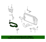 Radiator Coolant Hose - Ford (5L1Z-8286-BB)