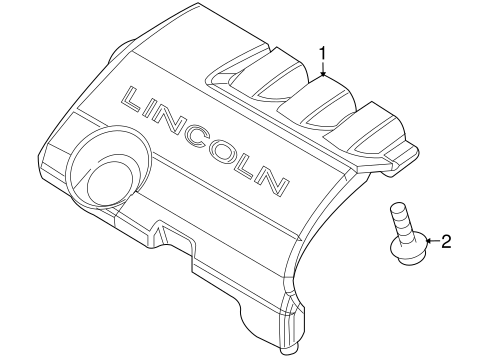 2010 lincoln mkx engine diagram all wiring diagram data 2009 Lincoln MKS Front Bumper engine appearance cover for 2010 lincoln mkx haagfordparts 2012 lincoln mkx 2010 lincoln mkx engine diagram