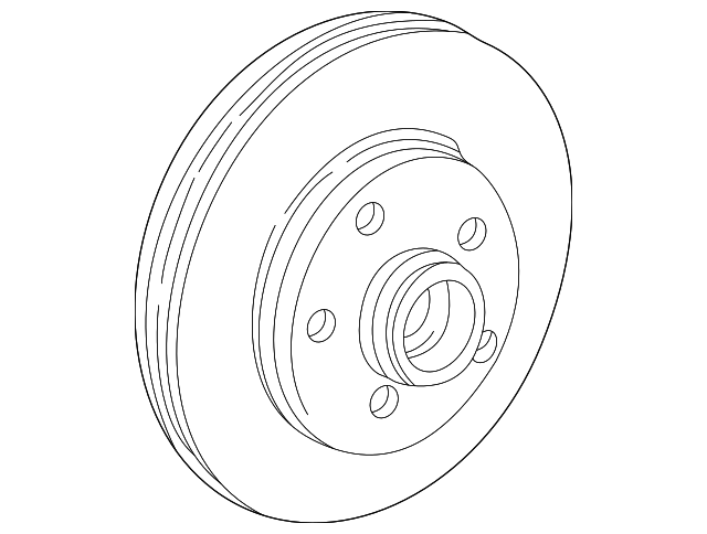 Ford Explorermercury Mountaineer Front Disc Brake Rotor
