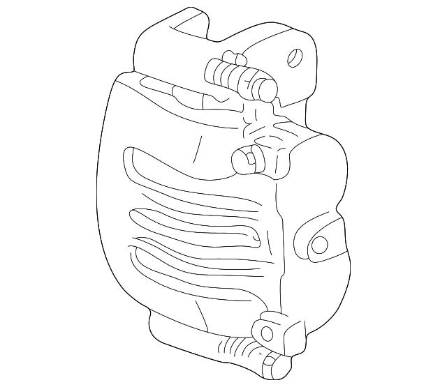 2002 2011 Ford Caliper 6l5z 2b121 A