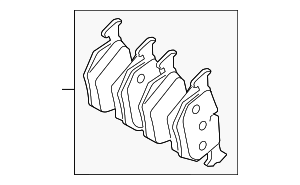 Brake Pads - Land-Rover (LR043714)