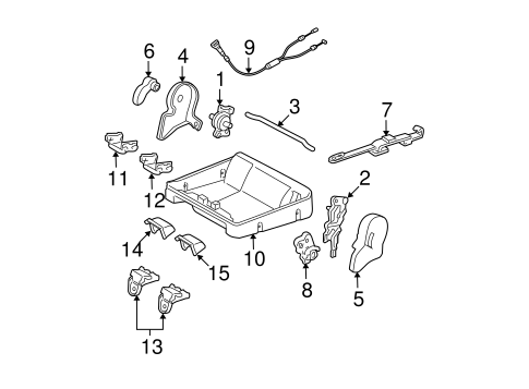 BODY/TRACKS & COMPONENTS for 2005 Toyota Sequoia #5