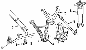 Control Arm, Left, Left Upper