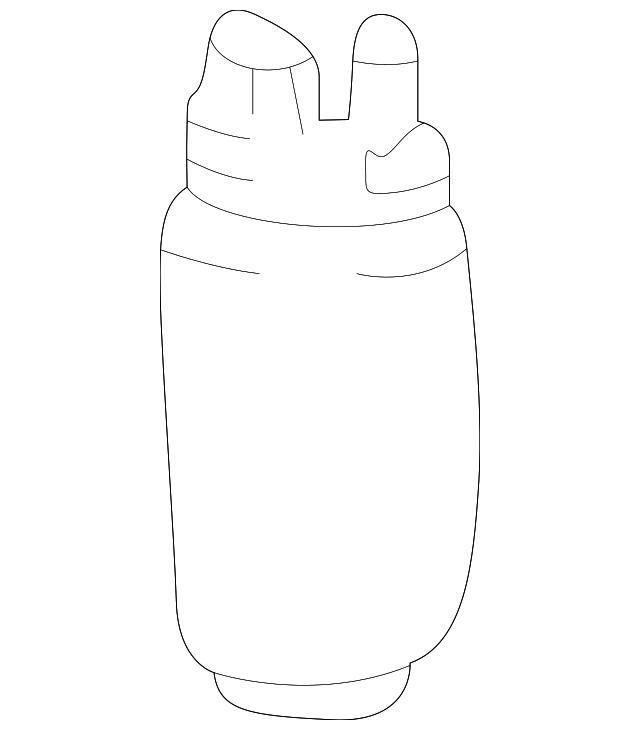 2000 2006 Toyota Fuel Pump 23221 21060