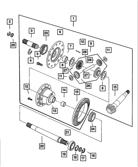 wiring diagram for 2004 dodge intrepid differential for 2004 dodge intrepid mopar discounted parts  differential for 2004 dodge intrepid