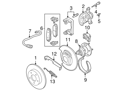 rear brakes for 2001 oldsmobile alero kutztown auto company kutztown auto company