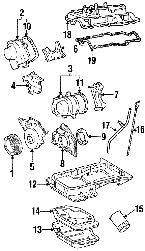 Engine Parts For 1999 Lexus Ls400