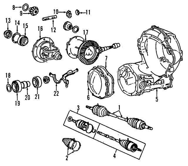 Axle Assembly - Toyota (43410-16061)