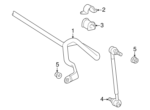 Stabilizer Bar & Components for 2000 Toyota Celica #0