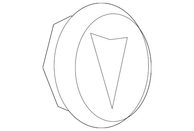 genuine oem center cap