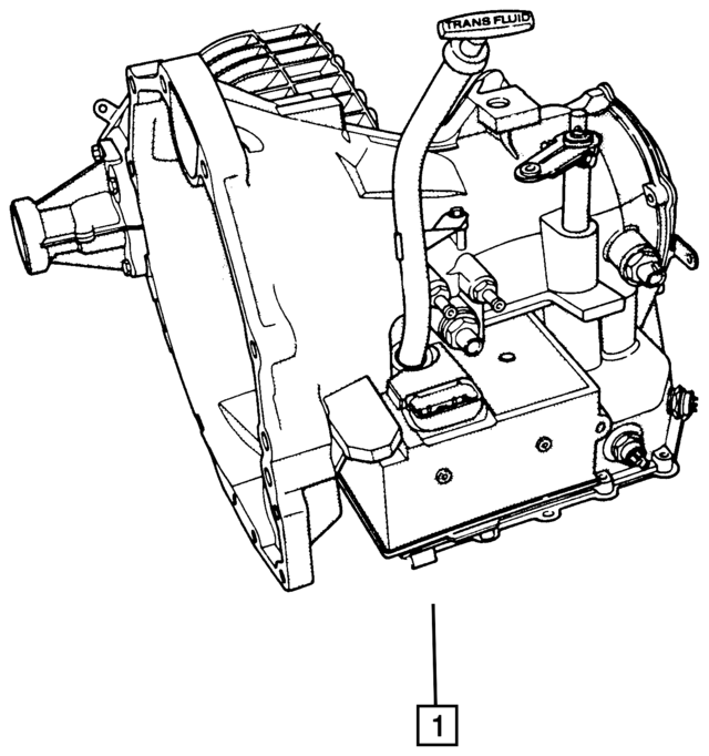 1993 F250 E4od Transmission Diagram