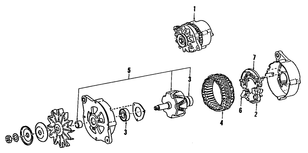 Genuine Subaru Alternator 23700aa02r