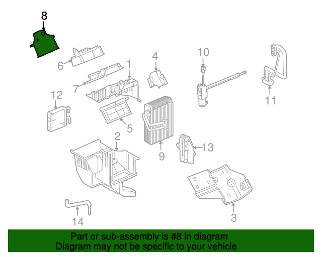 Blower Motor Gm 15249638