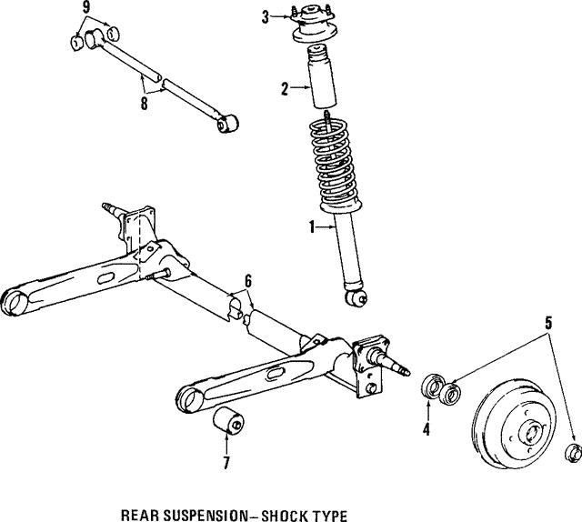 Toyota 48725-16110 Suspension Control Arm Bushing