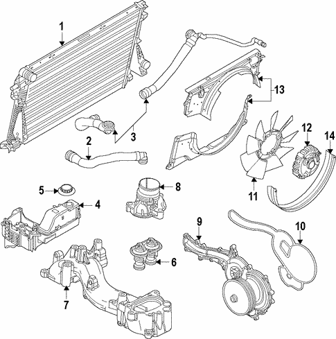 radiator \u0026 components for 2018 ford f 350 super duty beechmont Radiator How It Works