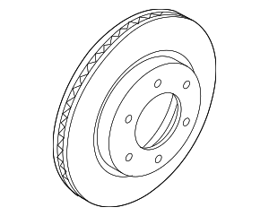 Rotor - Ford (KB3Z-1125-A)