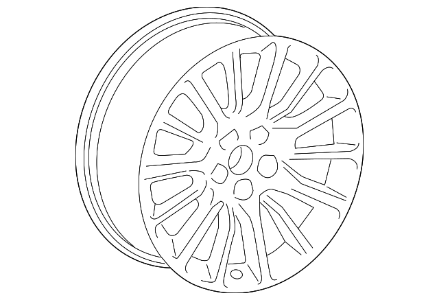 Wheel Gm 22941671 Gmpartsnow