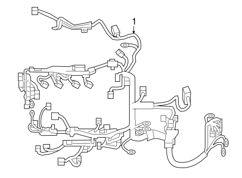 Wiring Harness For 2018 Toyota Camry
