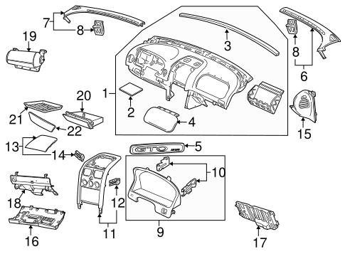 Instrument Panel For 2006 Pontiac Gto