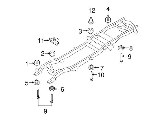 INSULATOR Ford 7C3Z-1000154-LB