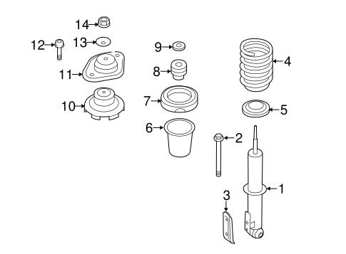 bmw 325i front suspension diagram honda insight suspension