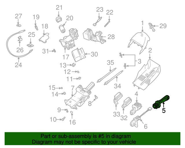 switch assembly bmw 61 31 8 352 171 xportauto 528I Custom genuine bmw parts
