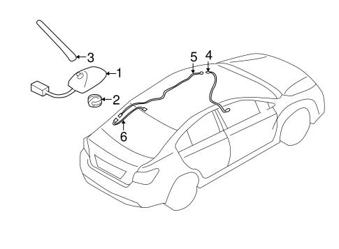Wiring Diagram Keyless Entry System additionally New Subaru Brz Engine likewise Radio Antenna  plete 27165 likewise Transmission Control Module P0605 2001 Chrysler additionally Outside Air Temp Sensor Location Bmw. on subaru antenna